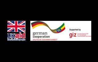 Logo US Aid - German Cooperation - giz