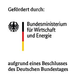 Gefördert durch: Bundesministerium für Wirtschaft und Energie